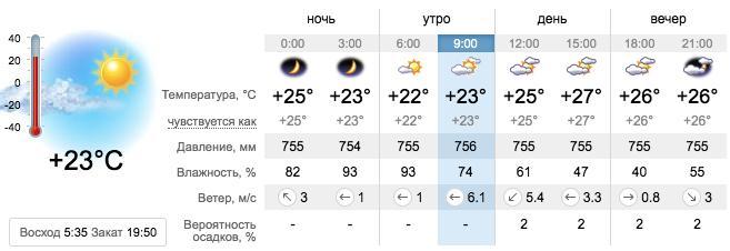 Погода в Кирилловке на 15 августа. sinoptik.ua