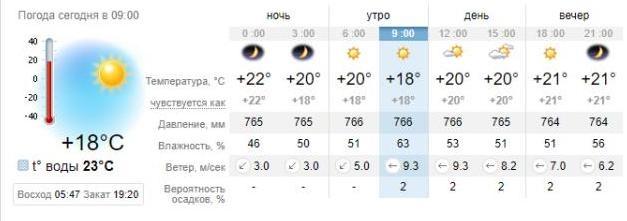 Погода в Бердянске на 29 августа. sinoptik.ua