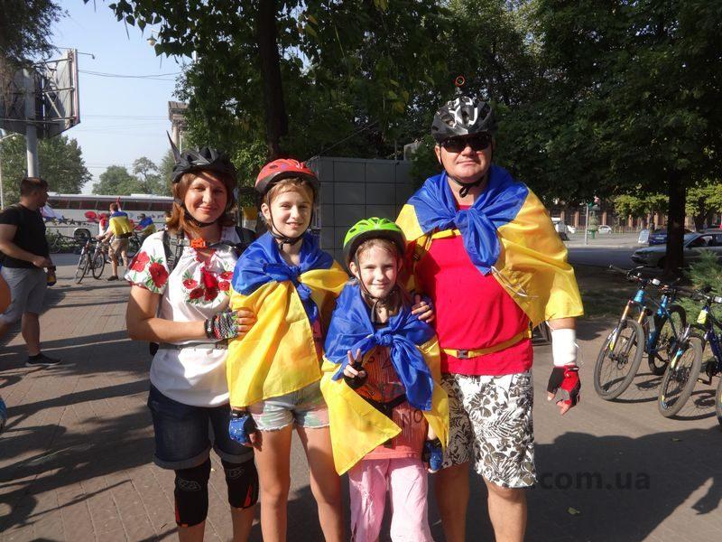 патриотический велопробег