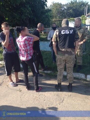 Террориста задержали в Запорожской области. Фото: СБУ
