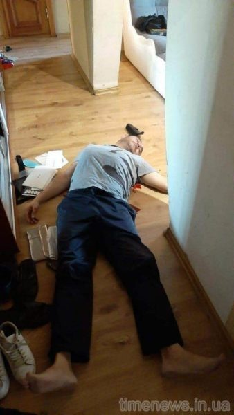 Правоохранители инсценировали убийство. Фото: