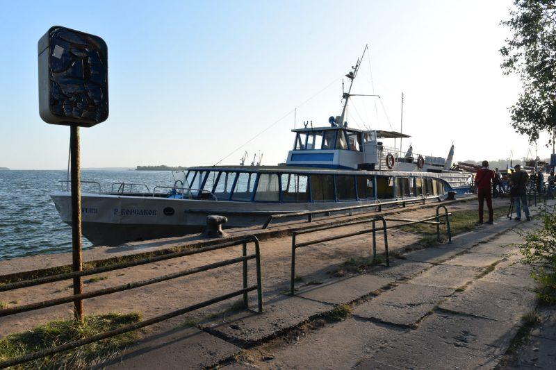 В Запорожье запустили речные перевозки между двумя берегами