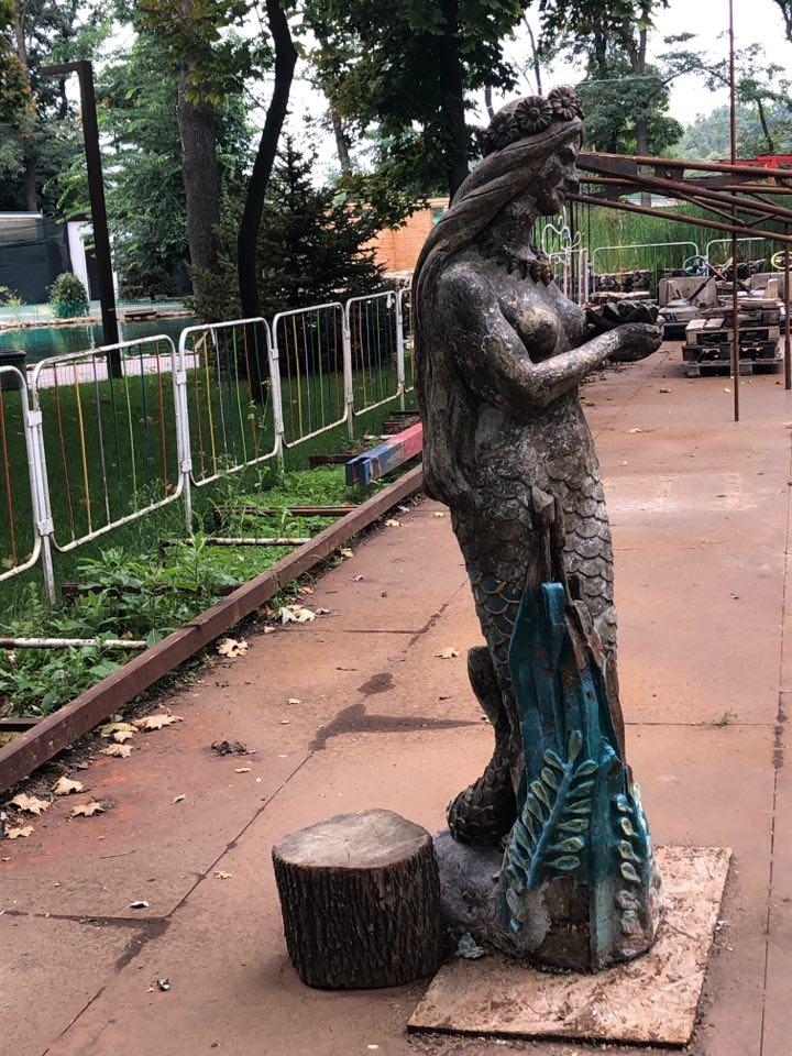 Сказочный символ парка в Запорожской области обновят