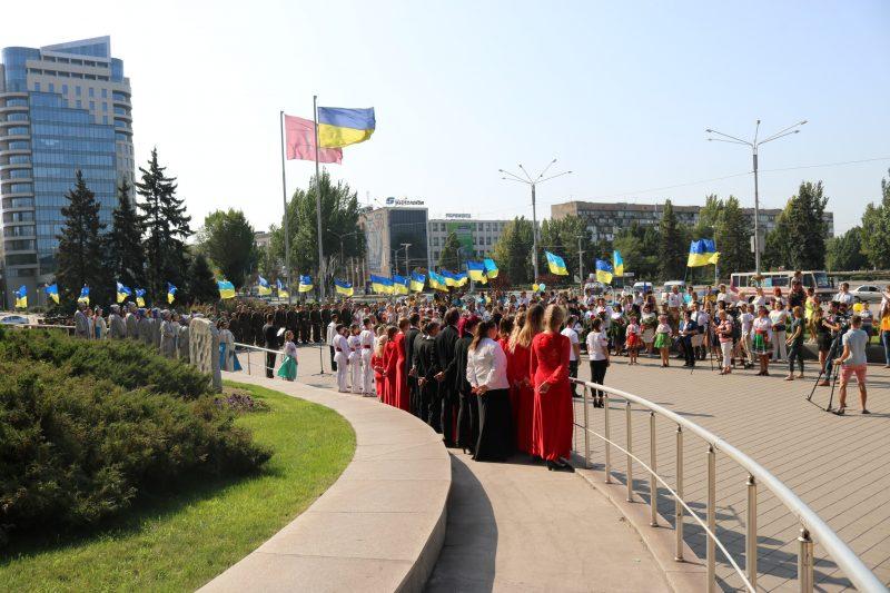 В Запорожье отмечают День Независимости Украины