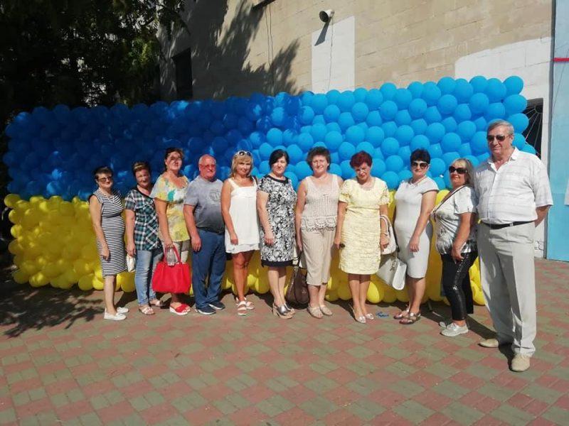 Мелитополь присоединился к празднованию Дня флага и Дня Независимости Украины