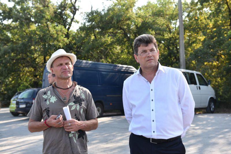 На Хортице обсудили новый формат празднования Дня города с Олегом Скрипкой