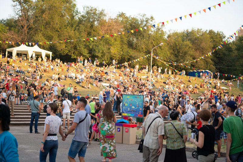 на фестивале Khortytsia Freedom