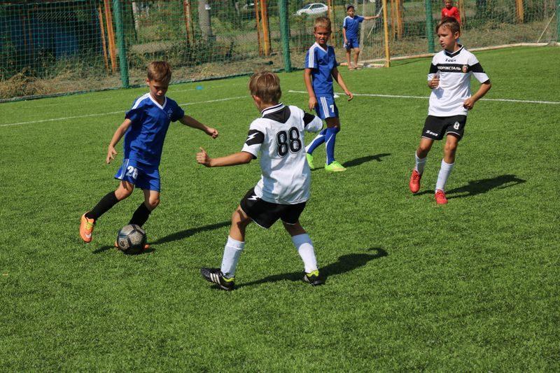 Большой футбол маленьких футболистов