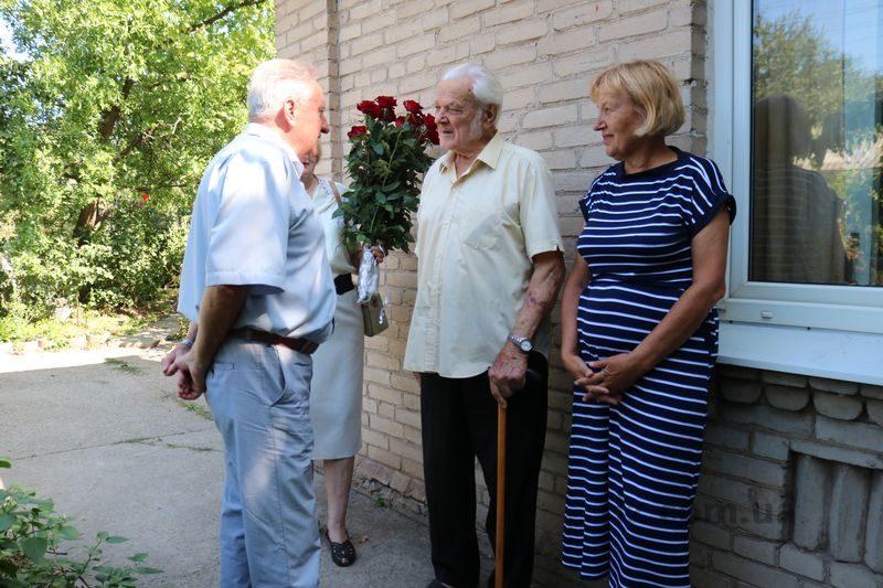 Ветеран-освободитель Запорожья отметил 95-летний юбилей
