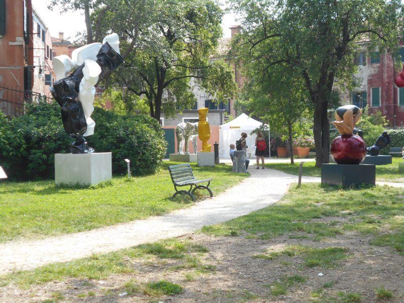 в парке Giardini Marinaressa