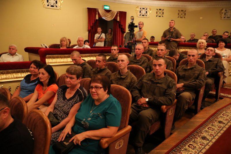 Запорожцев поздравили с Днем Независимости