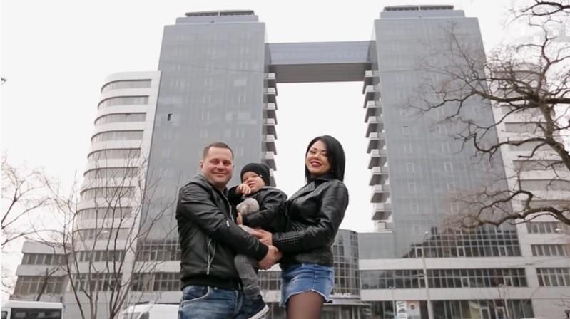 Карина и Станислав Придиус из Запорожья. Кадр из видео