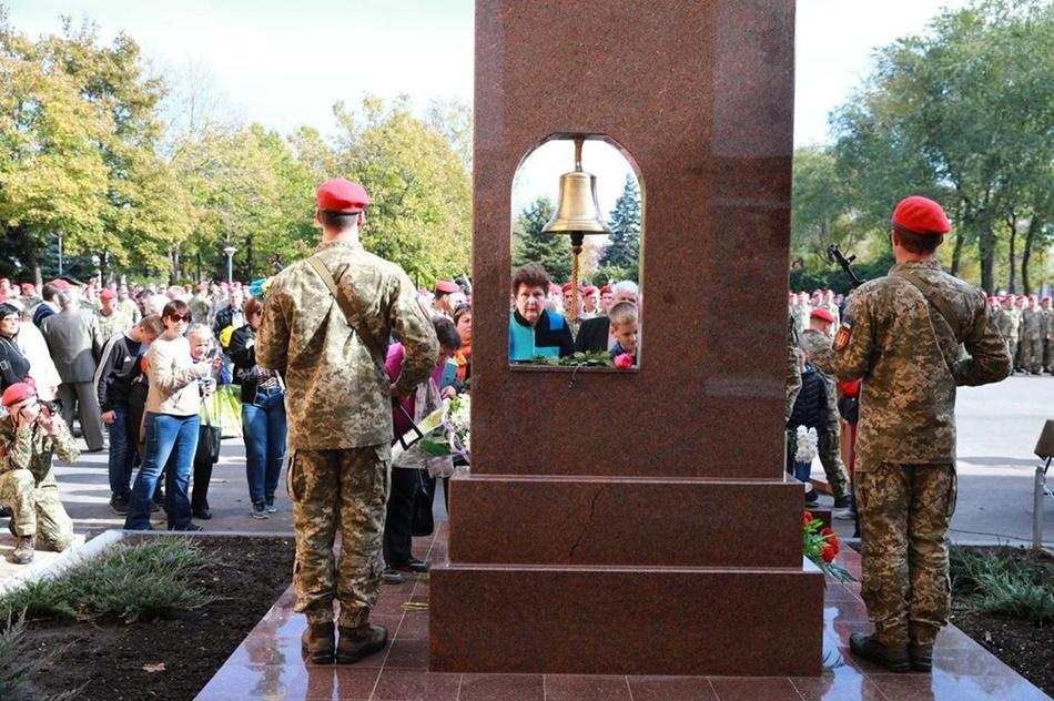 Так выглядит новый памятник в Запорожье / фото: пресс-служба ОГА