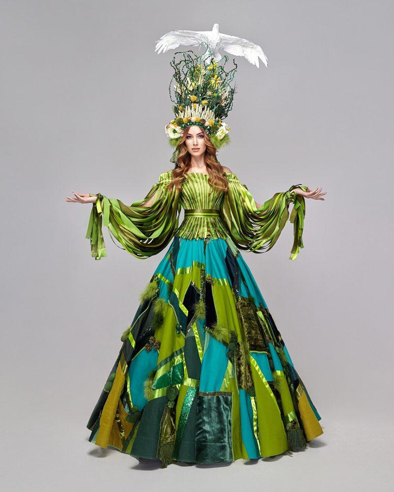 """Запорожанка выйдет на подиум конкурса """"Мисс Вселенная"""" в оригинальном наряде"""