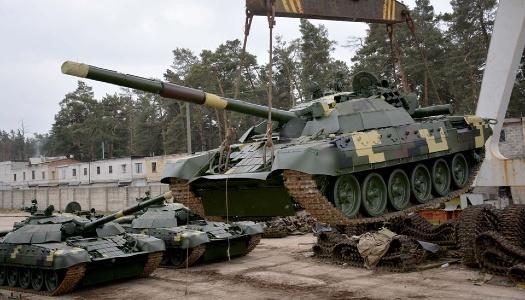 Модернизированные танки. Фото New Format