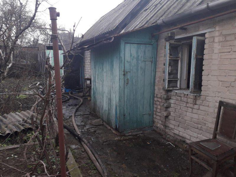 В Запорожье пожар унес жизнь двоих людей