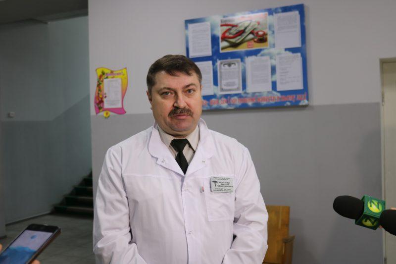 Начальник госпиталя, подполковник Геннадий Охматенко