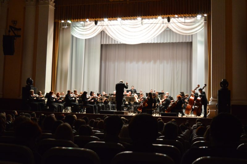 В Запорожье симфонический оркестр и выдающийся музыкант сыграли произведения Бетховена