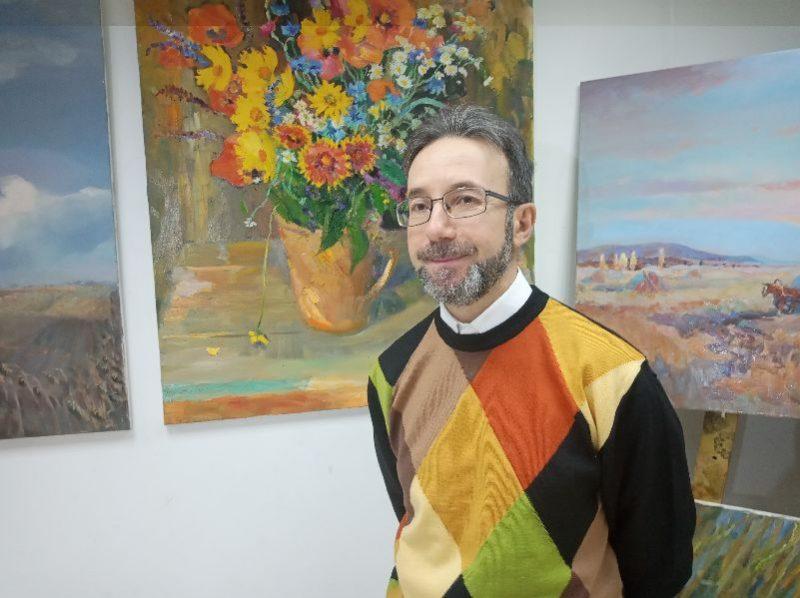 В галерее «ART L`», Антон Шеретов