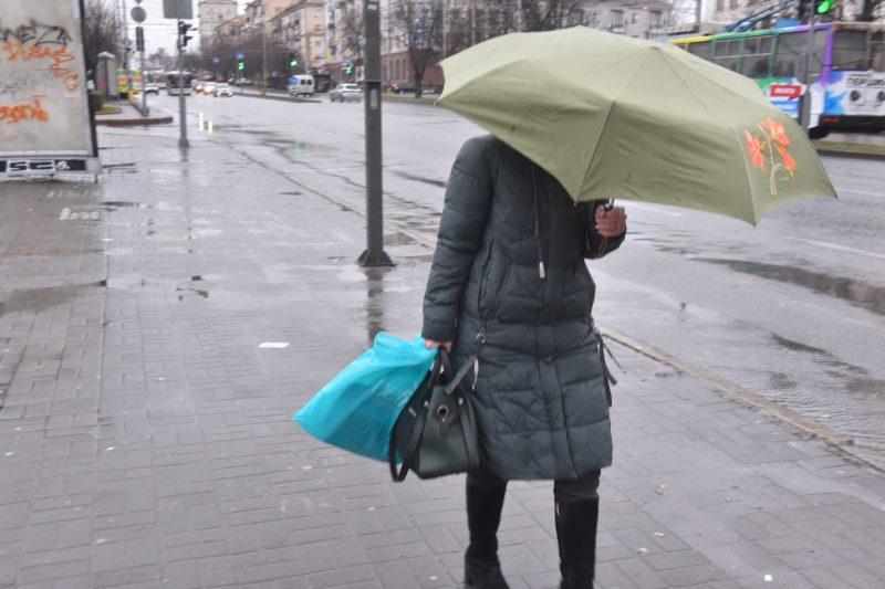 В Запорожье ухудшилась погода