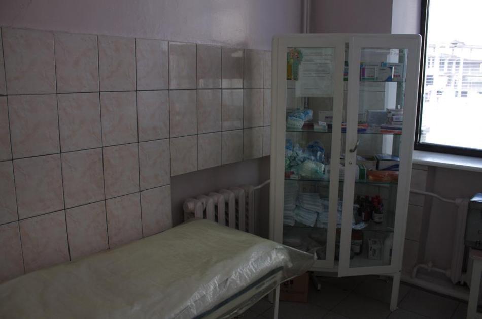 В этом шкафчике находятся препараты / фото: Vgorode