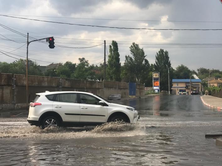 Непогода в Мелитополе