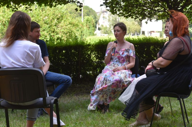 В Запорожье молодежь и представители власти обсудили, как сделать область комфортной и модной
