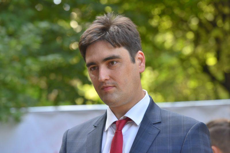 первый заместитель главы областного совета Егор Семенков