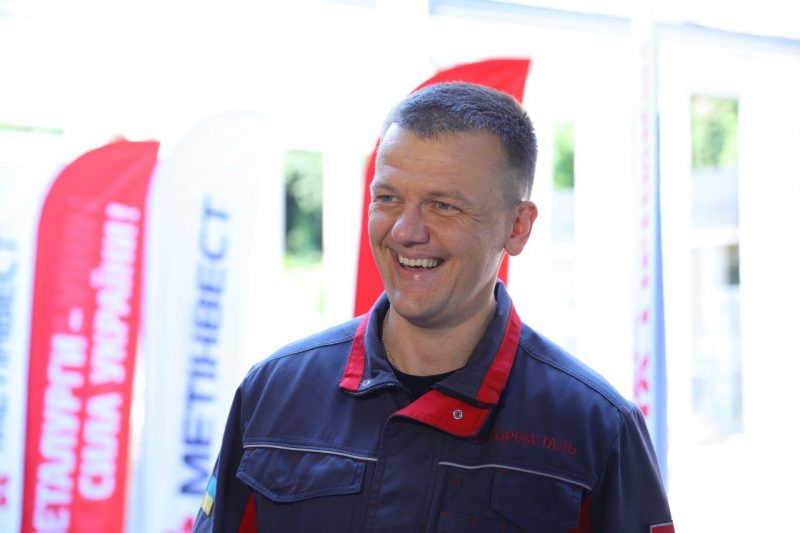генеральний директор ПАТ «Запоріжсталь» Олександр Мироненко