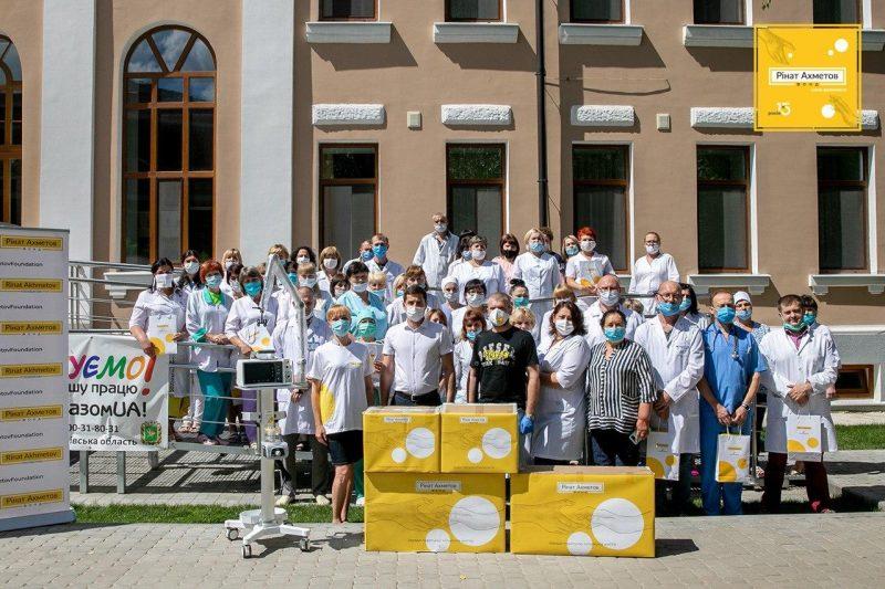 Медицина – один з основних напрямів діяльності Фонду Ріната Ахметова