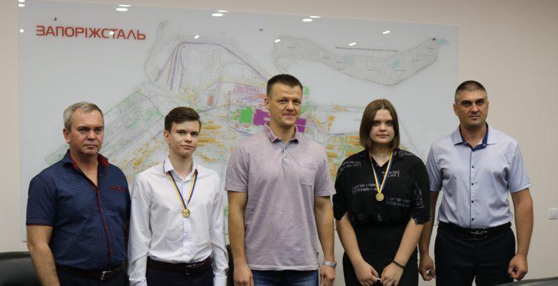 У Запоріжжі нагородили «золотих медалістів»