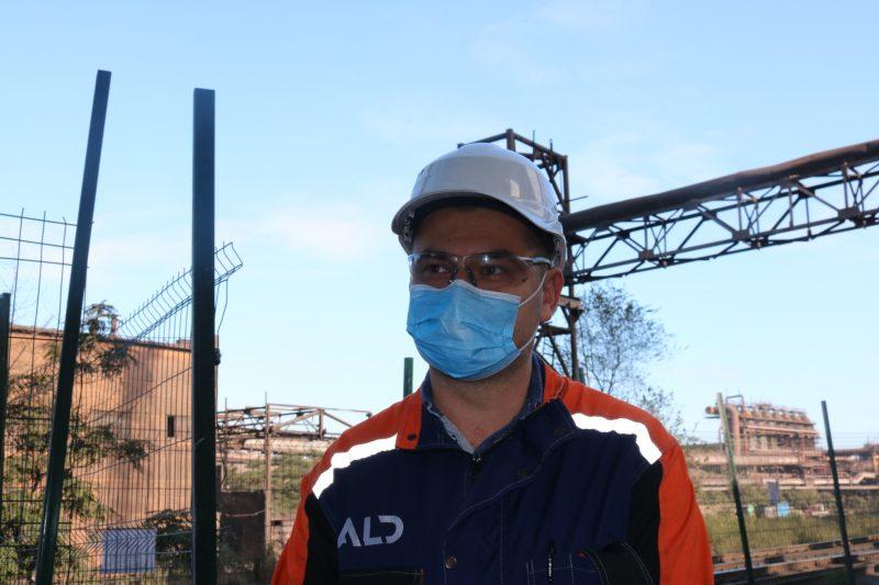 керівник проекту від підрядної компанії АЛД Інжиірінг та будівництво Євген Опалатенко