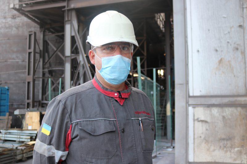 заступник начальника аглоцеху з аспірації та очищення технологічних газів Сергій Герасименко