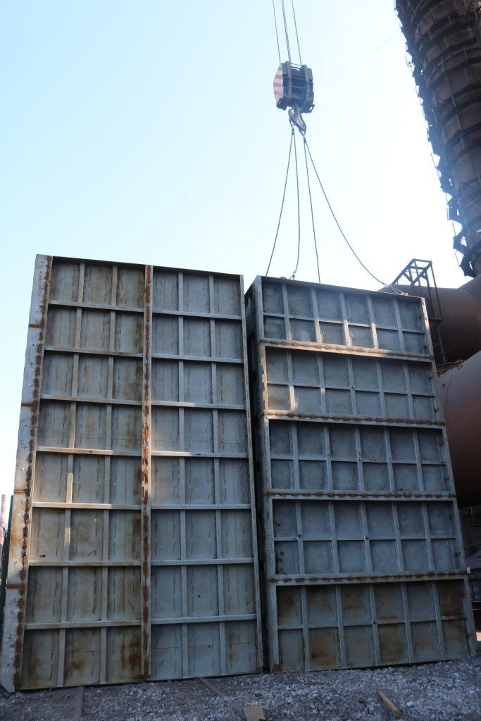 На агломашини комбінату «Запоріжсталь» продовжують встановлювати нові аспіраційні установки