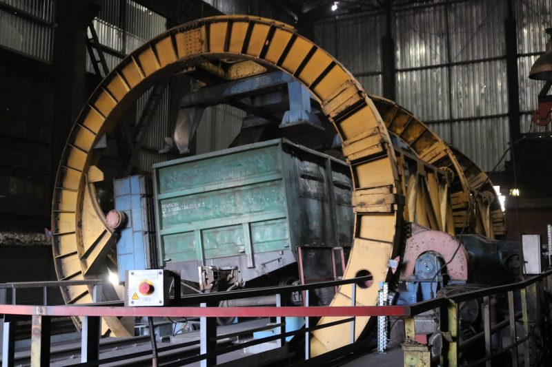 У вуглепідготовчому цеху (УПЦ) ПрАТ «Запоріжкокс» завершили реконструкцію вагоноперекидача №2. Це спеціальна споруда для механізованого розвантаження вагонів.