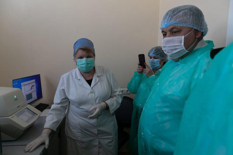 вирусологическая лаборатория ОЛЦ