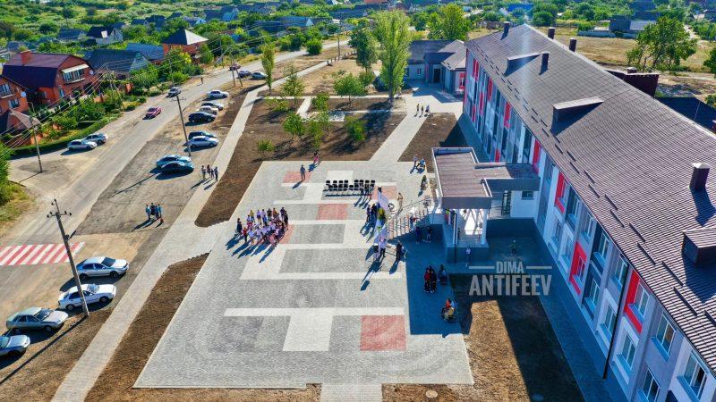 Мелитопольская общеобразовательная школа №8 после реконструкции