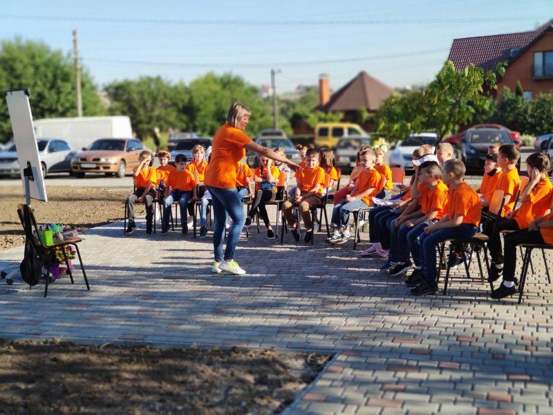 открытие гимназии в Мелитополе