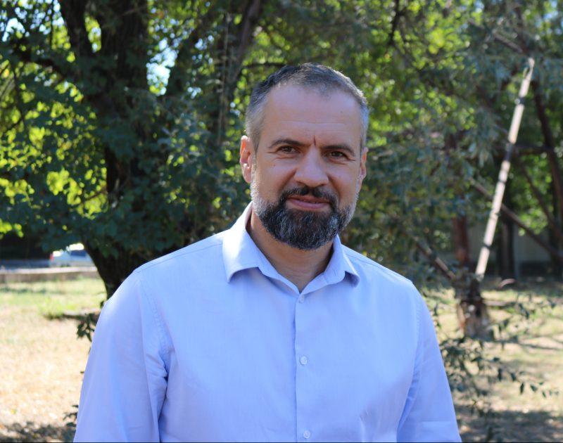 активист Партии Порядок Максим Охотин