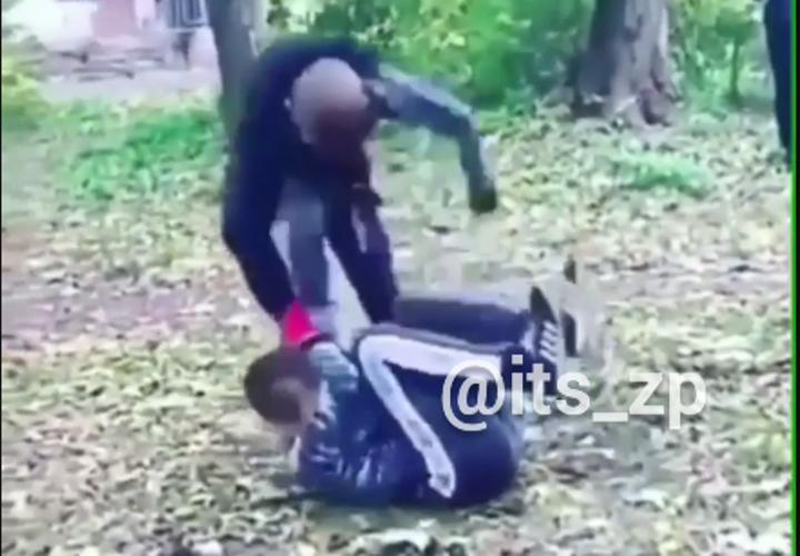 В Запорожье школьник жестоко избил сверстника и снял это на ВИДЕО