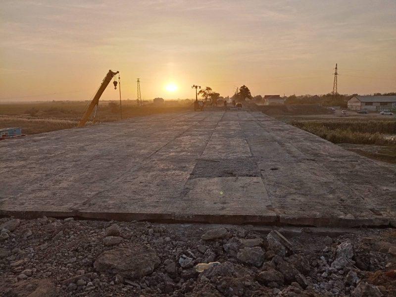 Мост возле Мелитополя