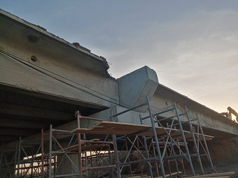 ремонт моста в Мелитопольском районе