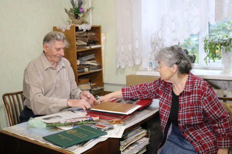 Віктор Захарченко з дружиною