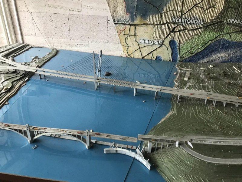 мост макет