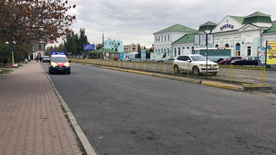 По Запорожью ездят спецавтомобили с мигалками и громкоговорителями: в чем причина (ФОТО)