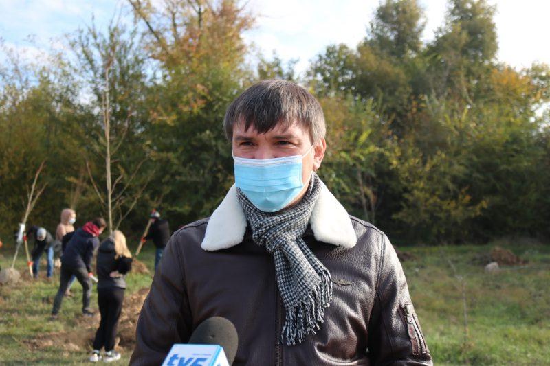 керівник громадської спілки «Зелений Центр Метінвест Запоріжжя» Олександр Балаба