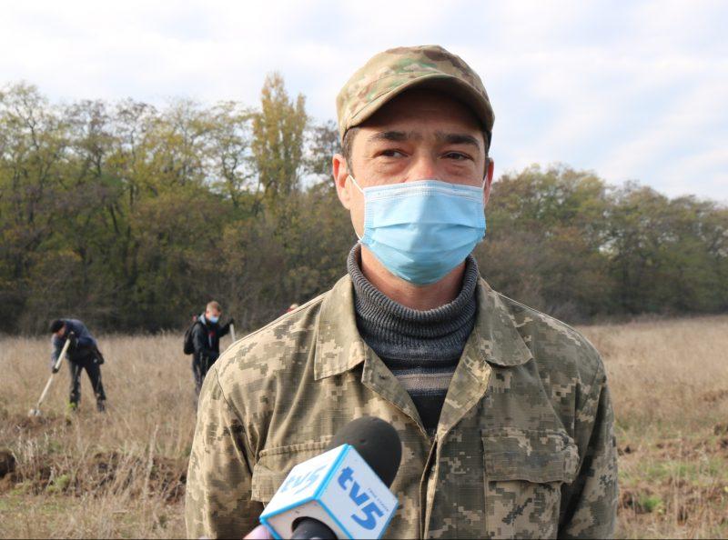 інженер відділу лісу Національного заповідника «Хортиця» Михайло Козлов