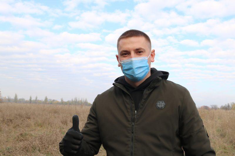 ведучий спеціаліст із взаємодії з молоддю комбінату «Запоріжсталь» Анатолій Ширма