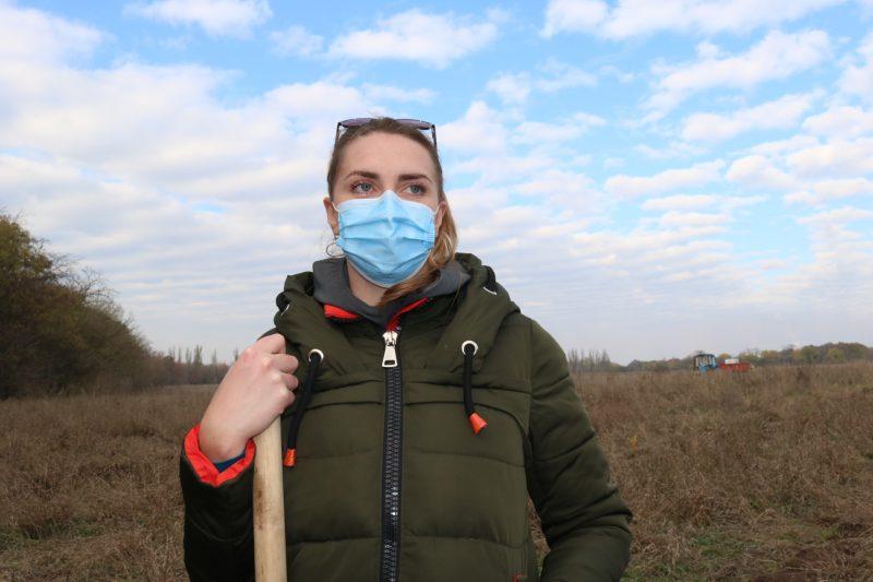 співробітниця фінансової дирекції комбінату «Запоріжсталь» Поліна Горбатова