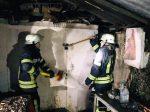 В центре Запорожья был сильный пожар